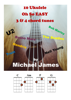 Michael James - 10 Ukulele Oh So EASY 3 & 4 chord tunes  artwork