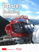 PistenBully PB400 Building Instructions 1:12