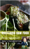 Ricettario Raw Food Book Cover