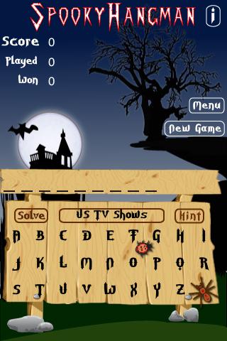 Spooky Hangman