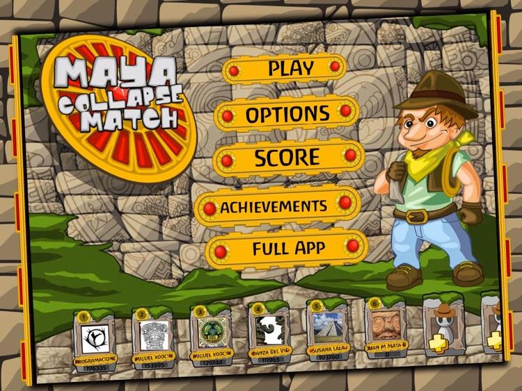 Maya Collapse Match HD Lite screenshot-4