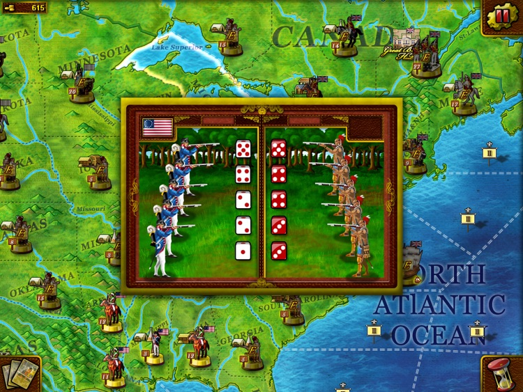 Musket & Artillery: American Revolutionary War for iPad screenshot-4