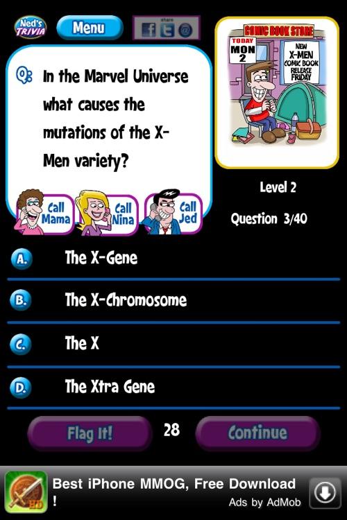 Ned's Movie Trivia Free screenshot-4
