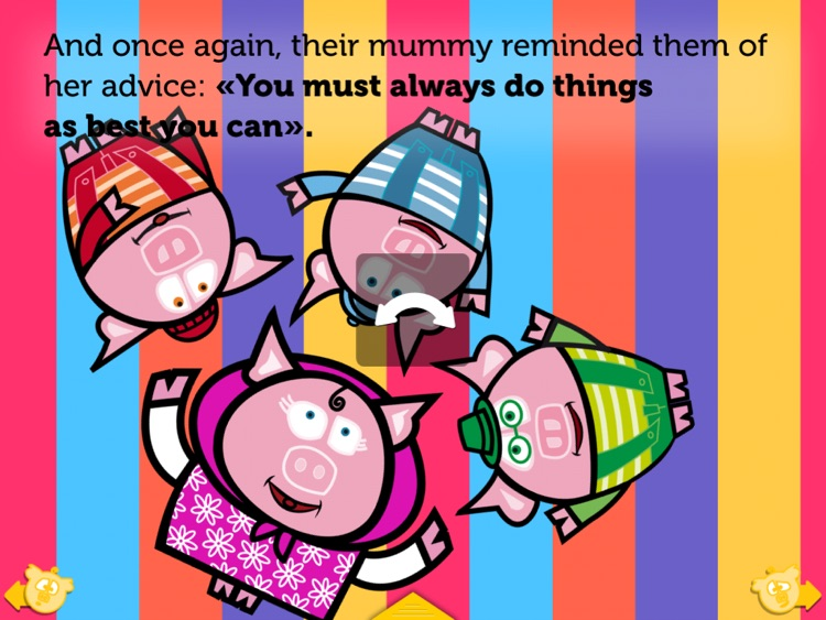 THE THREE LITTLE PIGS HD. ITBOOK STORY-TOY. screenshot-3