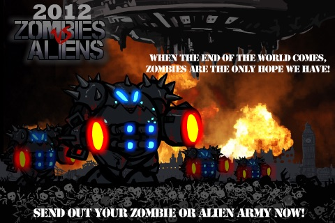 2012 Zombies vs Aliens Warfare