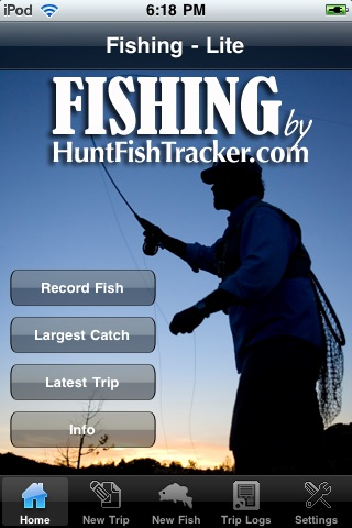 Fishing by HuntFishTracker