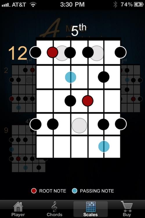 Guitar Jam Tracks: Blues in A screenshot-3
