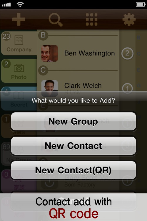 PowerContact LE (Contacts Group Management with Color & Icons) screenshot-4
