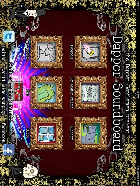 Dapper Soundboard HD screenshot-4