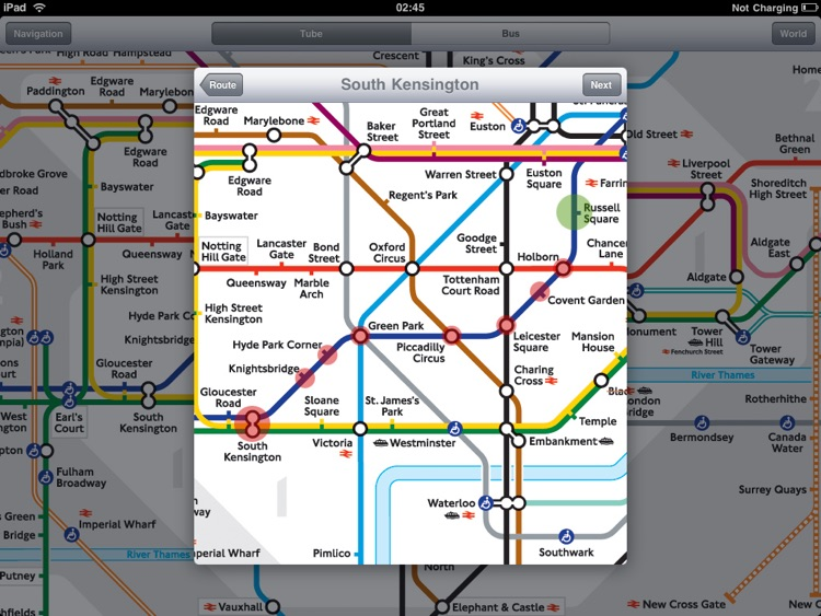 London Tube for iPad