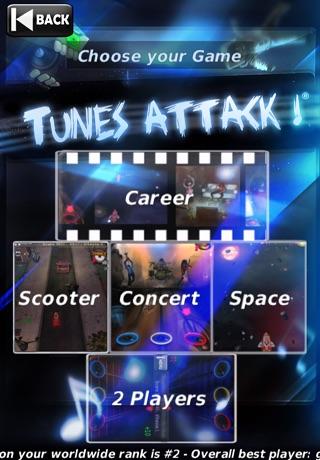Tunes Attack ! Lite Cheat Codes