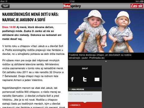 Foto správy screenshot 2