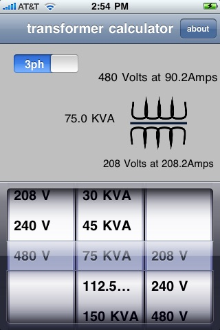 Transformer Calculator