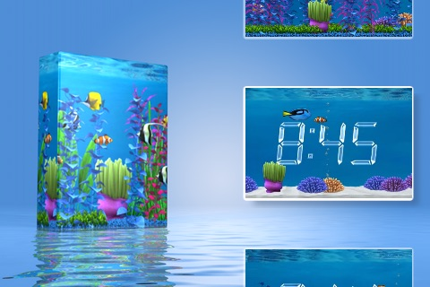 Aquarium Clock screenshot-4
