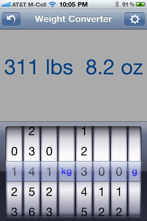 Weight Converter screenshot-3