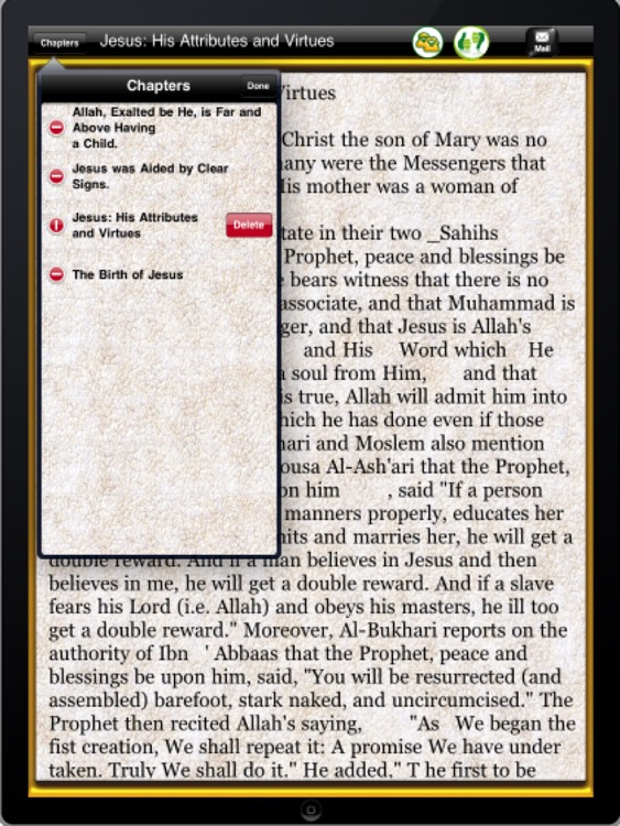 The islamic view of Jesus ( P.B.U.H ) for ipad screenshot-3