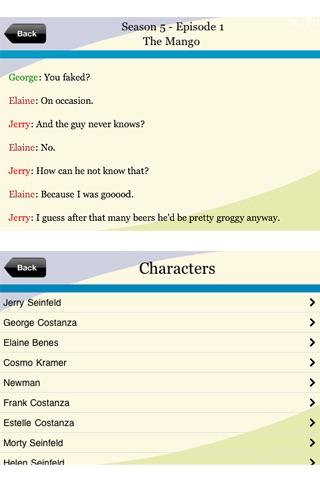 Seinfeld Fan App screenshot-4