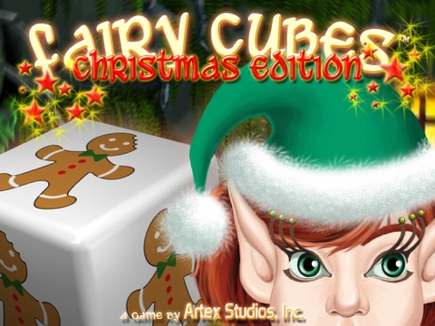 Fairy Cubes Christmas Edition HD screenshot 1