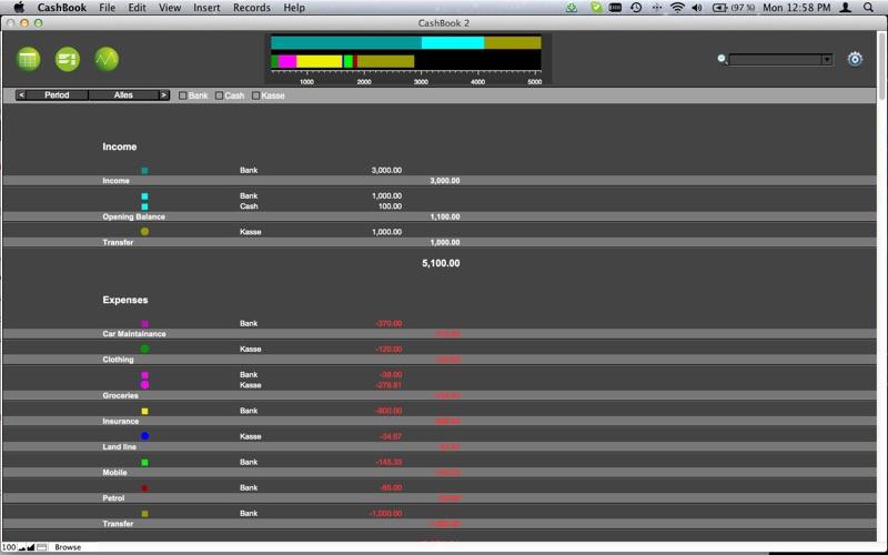 CashBook Screenshot