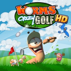 ‎Worms Crazy Golf HD