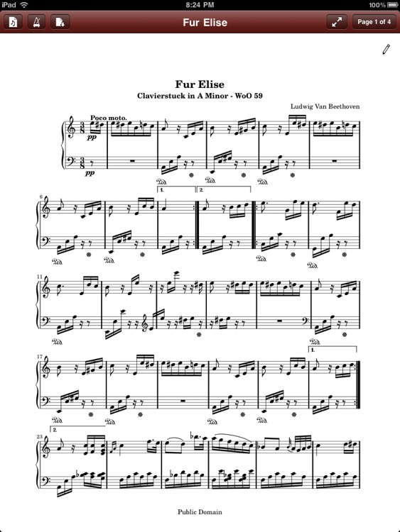 PDF Sheet Music Reader screenshot-4