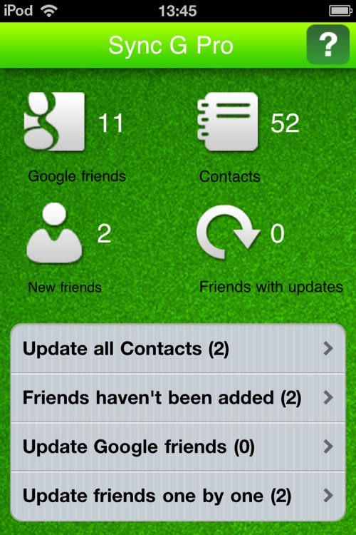 Contacts Sync for Google screenshot-1
