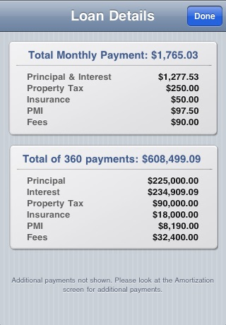 Mortgages Pro screenshot-1
