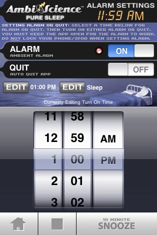 Pure Sleep | AmbiScience™ • Binaural & Isochronic Ambient Sleep Utility screenshot-3