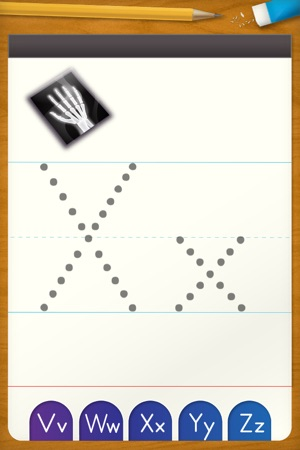 Abc letter tracing free writing practice for preschool on the abc letter tracing free writing practice for preschool on the app store altavistaventures Image collections