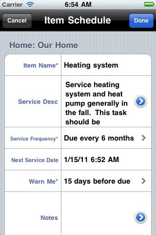 Home Maintenance screenshot-3