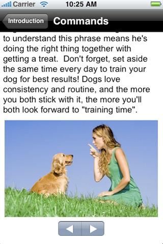 Puppy & Dog Trainer screenshot 2