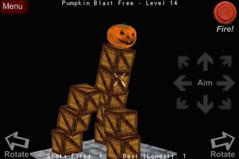 Pumpkin Blast Free screenshot-4