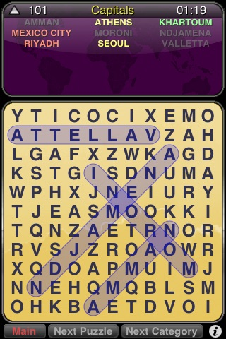 WordSearch Puzzle screenshot-3