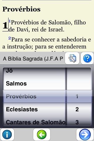 A Bíblia Sagrada (Portuguese Bible) screenshot-3
