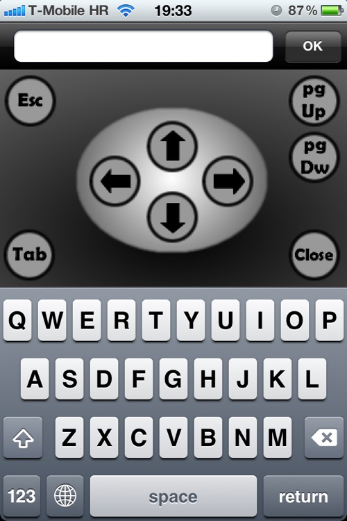 Wmouse LITE- wireless touchpad and keyboard screenshot-0