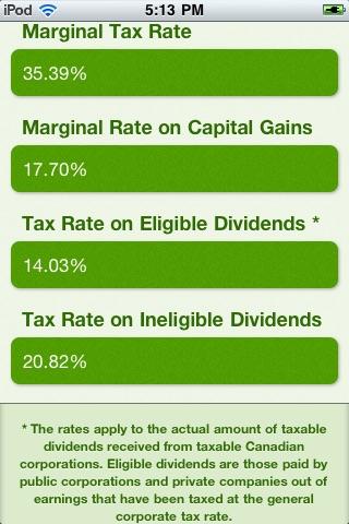 Tax Calculators screenshot-4