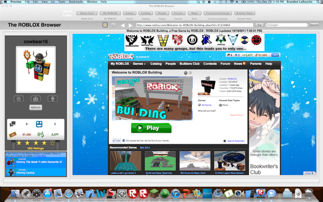 Roblox Para Mac The Roblox Browser On The Mac App Store