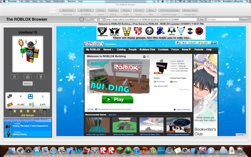 Roblox Mac Free The Roblox Browser Free Download For Pc And Mac 2020 Latest Pcmac Store