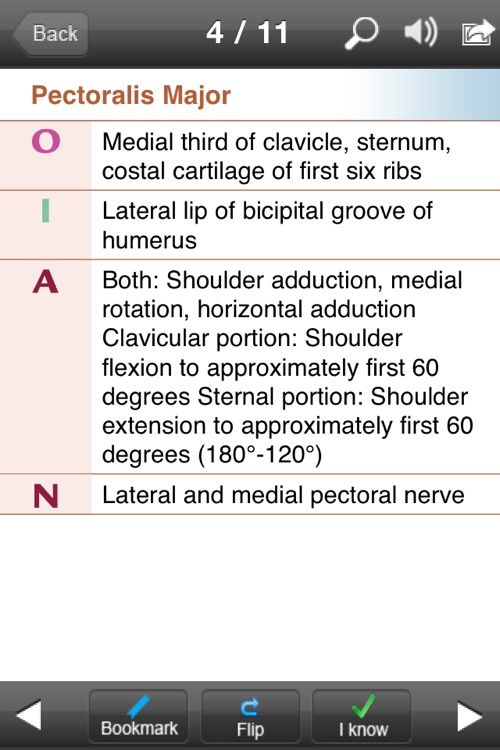 Kinesiology Flash Cards screenshot-3