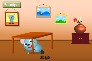(Spanish) Speech with Milo: Prepositions screenshot three