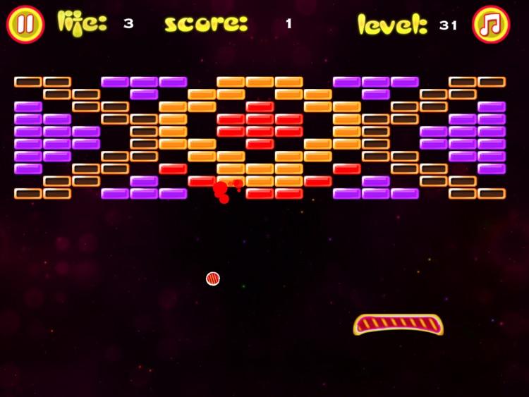 Brick Breaker Pro HD Plus screenshot-3