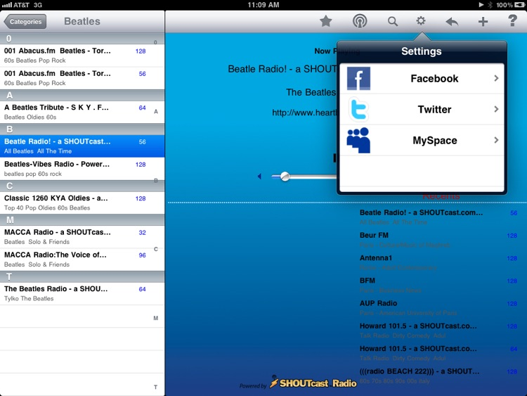 Radio - iPad Edition screenshot-3
