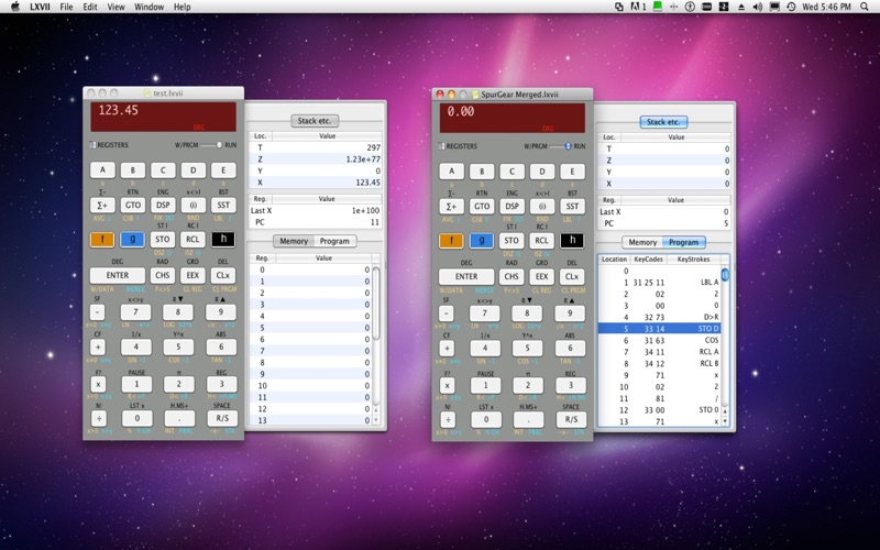 LXVII Screenshot