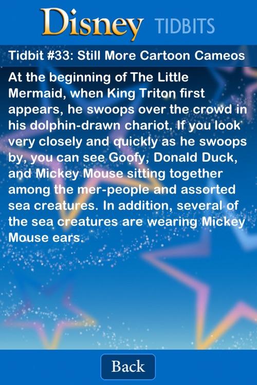 Tidbit Trivia - Disney Edition screenshot-4