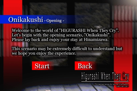 HIGURASHI When They Cry(Ep1)