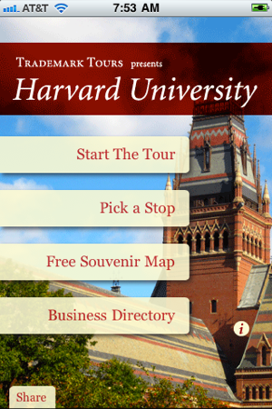 Tour Harvard on the App Store