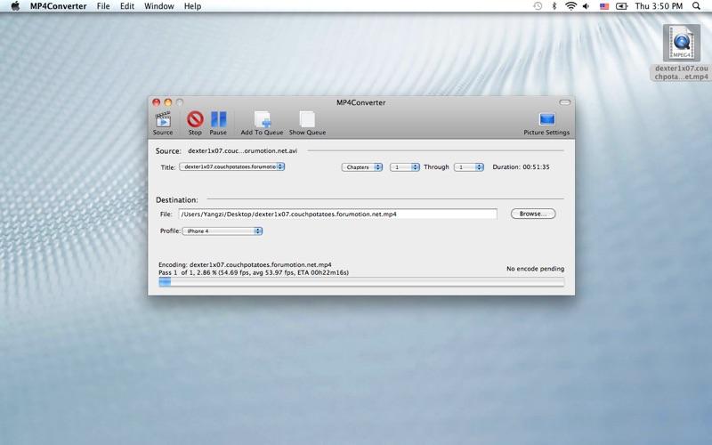 MP4Converter Screenshot