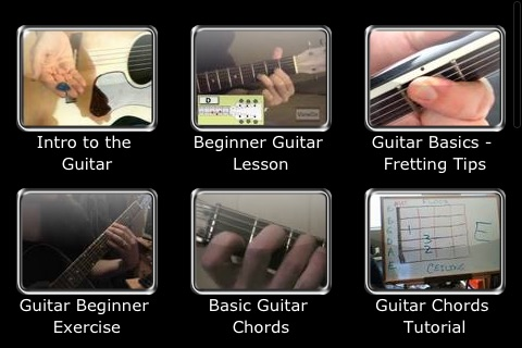 Guitar 101 - Learn to Play the Guitar screenshot-0