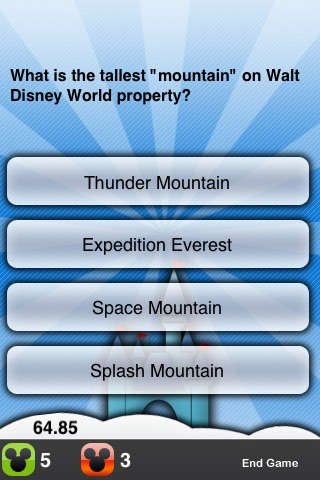 Walt Disney World Trivia screenshot-3