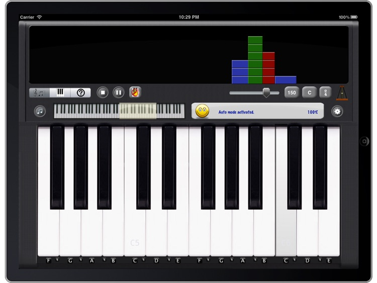 ezPiano for iPad: 100+ Songs with Full Accompaniment! screenshot-2